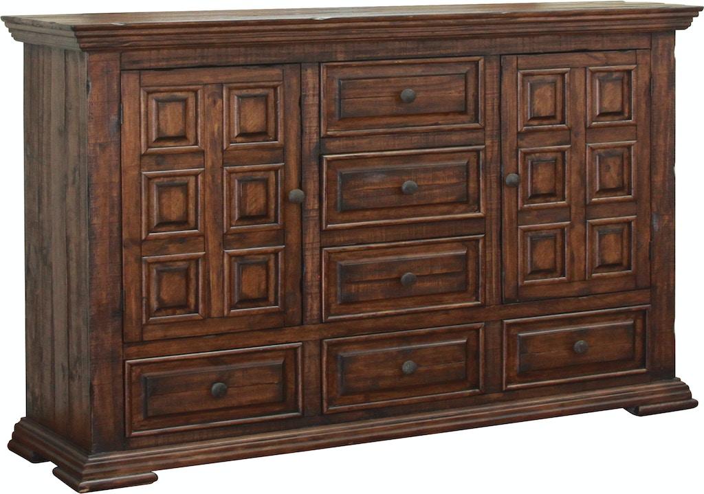 International furniture direct bedroom 6 drawer 2 doors for Design source furniture az