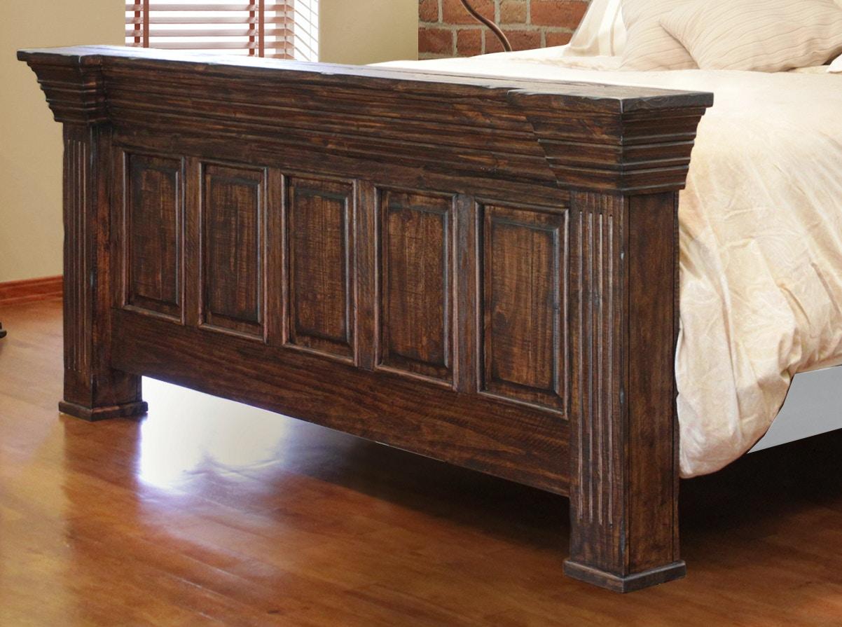 International Furniture Direct Bedroom 6 6 Footboard IFD1022FTBD EK