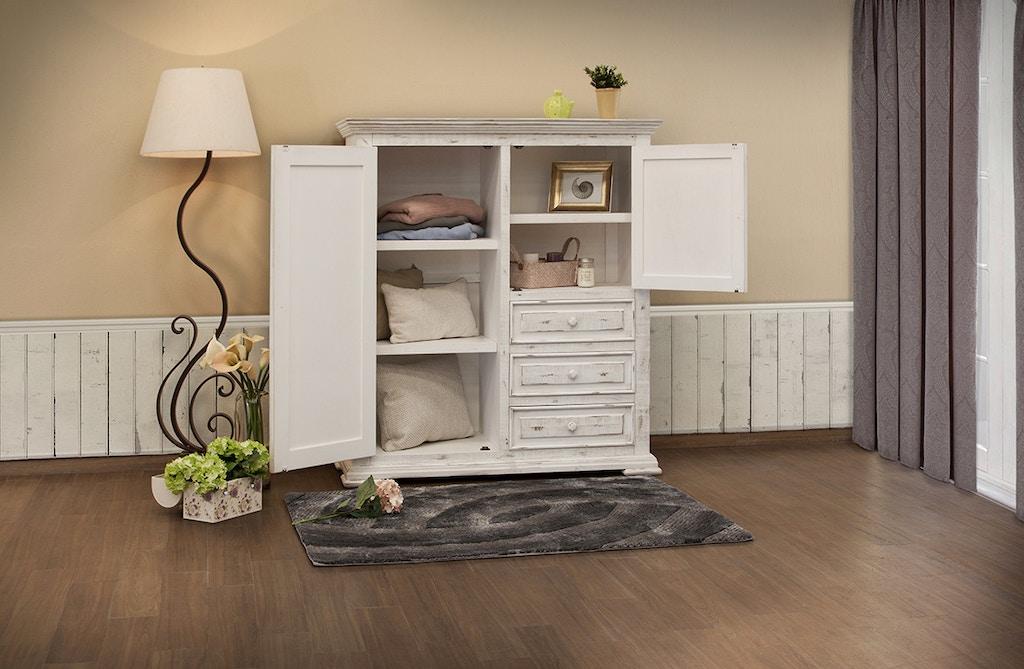 International Furniture Direct Bedroom 3 Drawer 2 Door