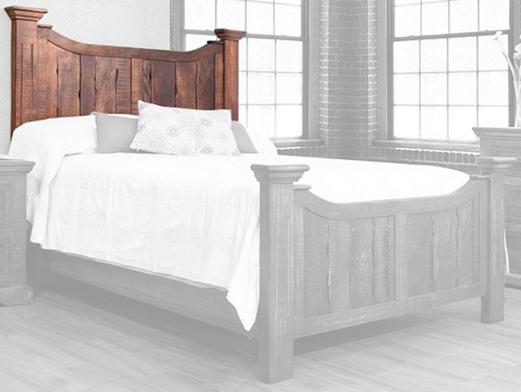 International Furniture Direct Bedroom Queen Madeira Bed ...