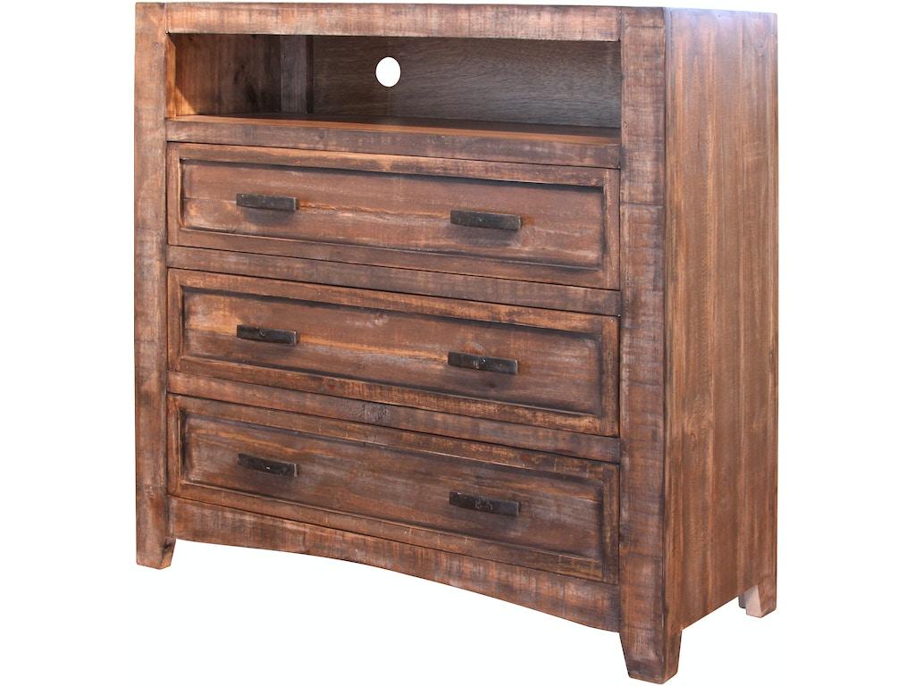 international furniture direct bedroom 3 drawer media. Black Bedroom Furniture Sets. Home Design Ideas