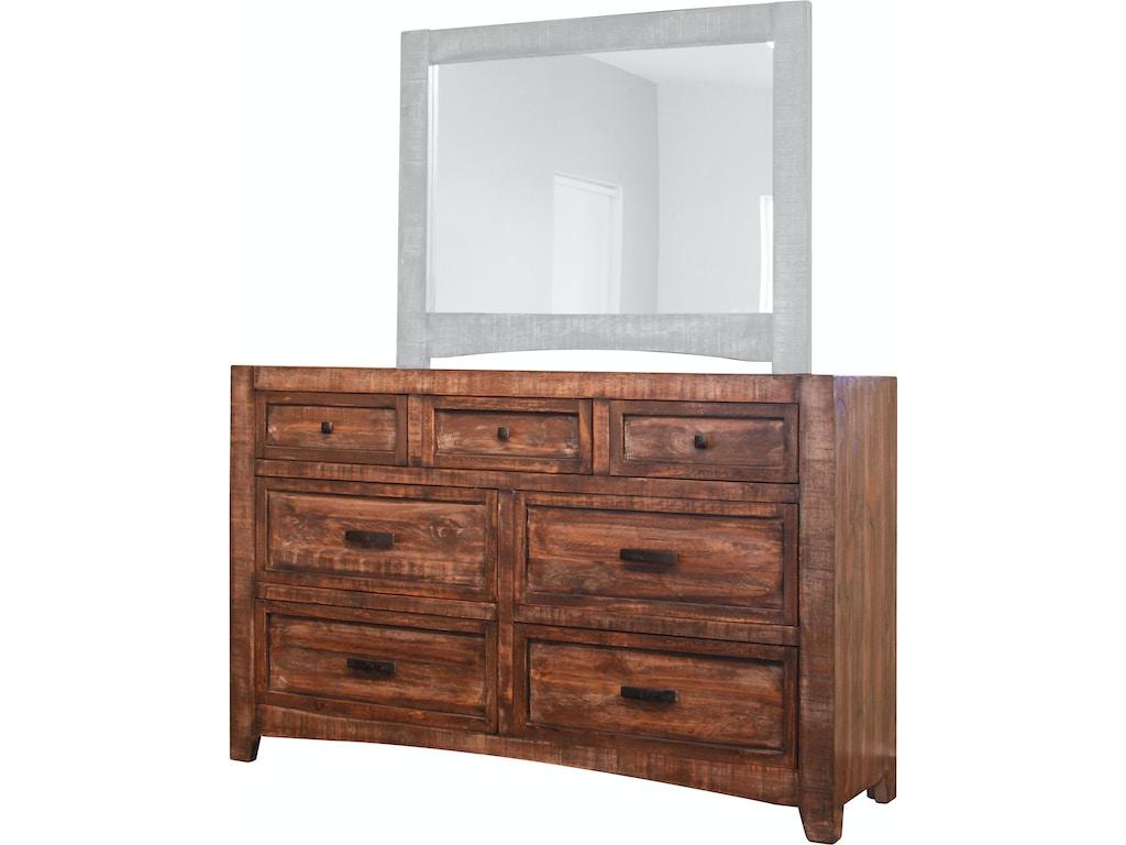 International furniture direct bedroom 7 drawer dresser for Furniture direct