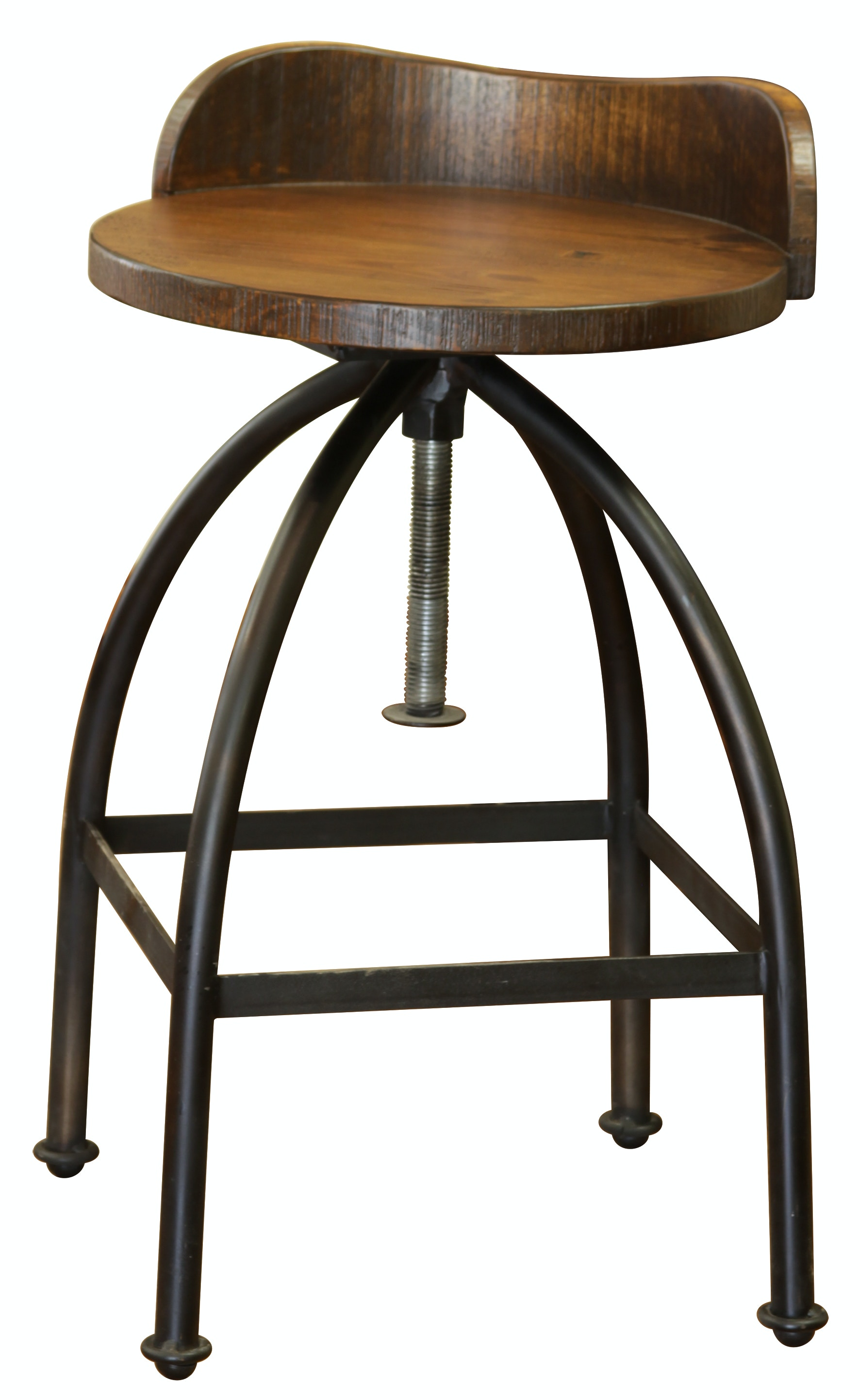 furniture direct inches adjustable height swivel stool