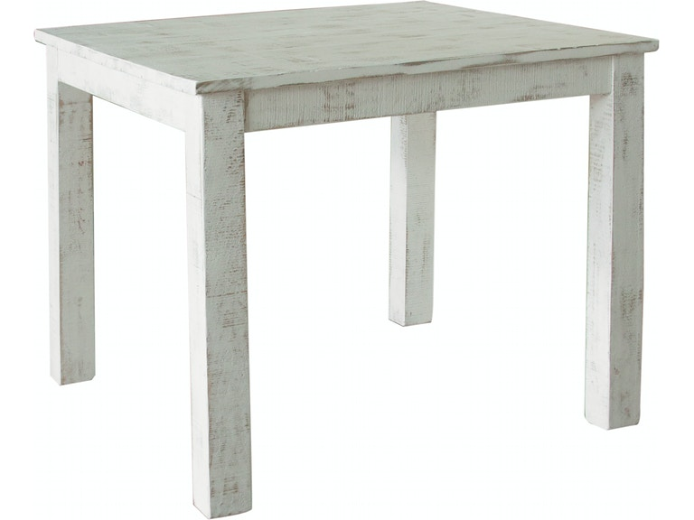 International Furniture Direct 42 Counter Table White Finish IFD360COUNT