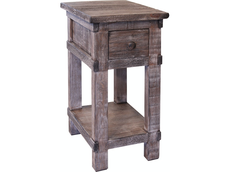 International Furniture Direct Living Room Chair Side Table ...