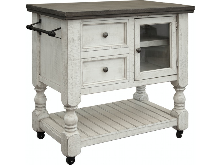 International Furniture Direct Kitchen Island Ifd4691ksl