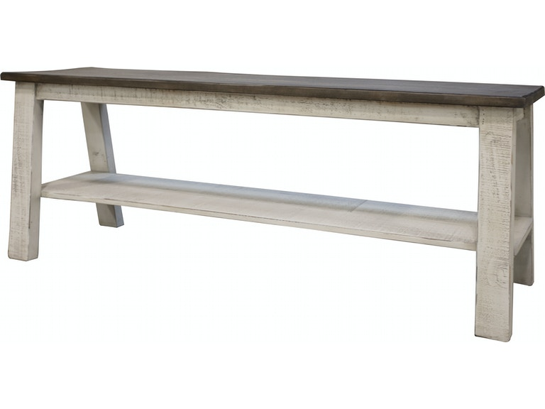 International Furniture Direct Dining Room Bench Counter Height Stone 469273 At Naturwood Home Furnishings