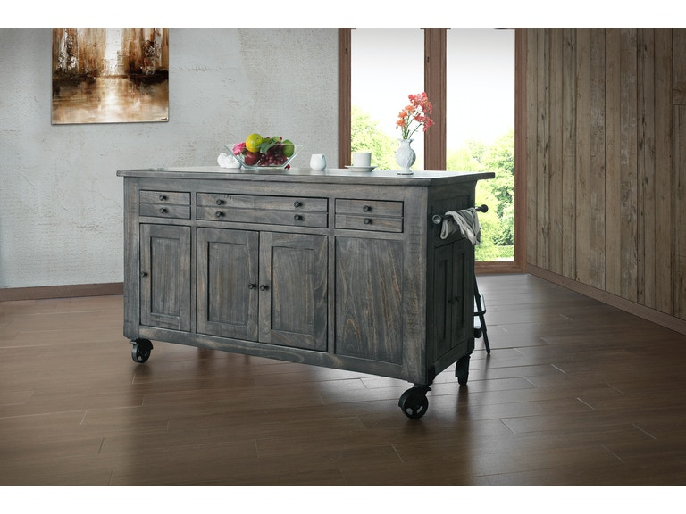 International Furniture Direct Ifd686island