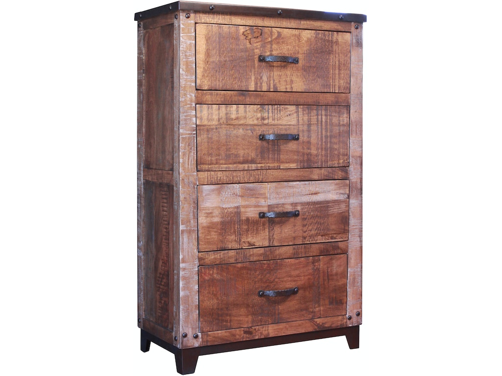 International Furniture Direct Bedroom 4 Drawer Chest Ifd766chest Sofas Unlimited