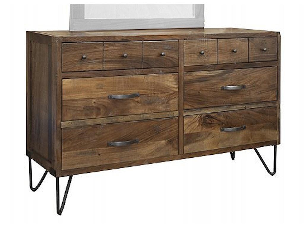 International Furniture Direct Bedroom 6 Drawer Dresser Ifd860dsr Sofas Unlimited