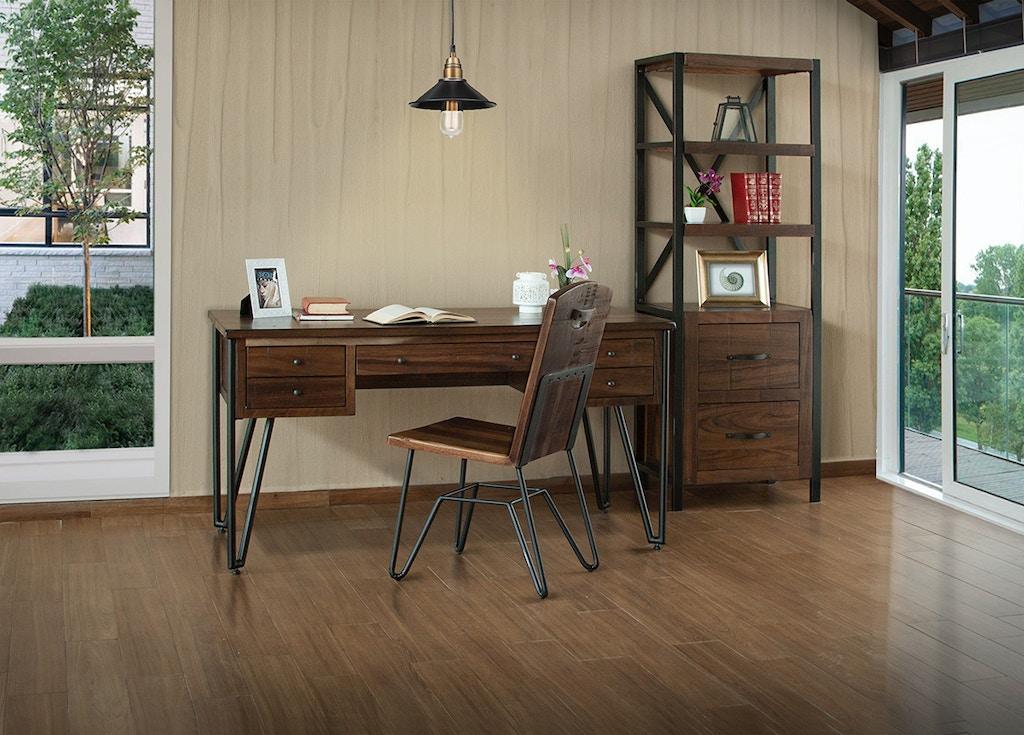 International Furniture Direct Home Office 5 Drawer Desk Ifd864desk