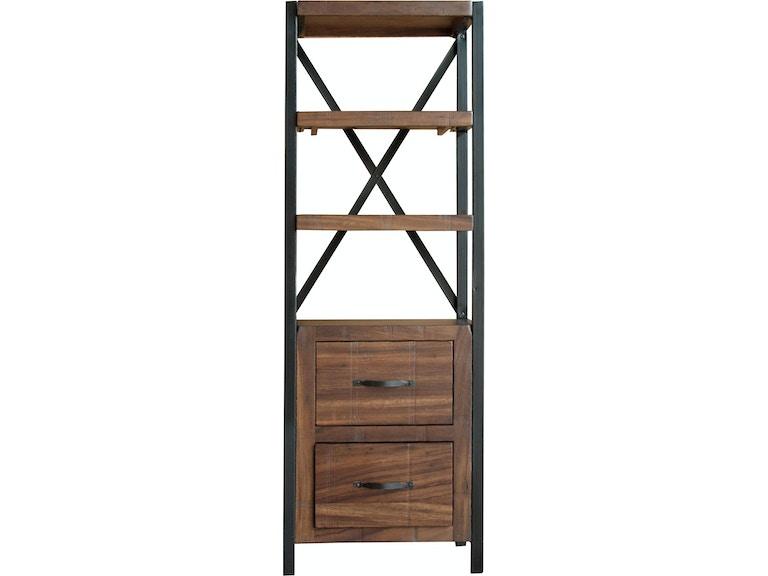 International Furniture Direct Pier Bookcase IFD864PIER