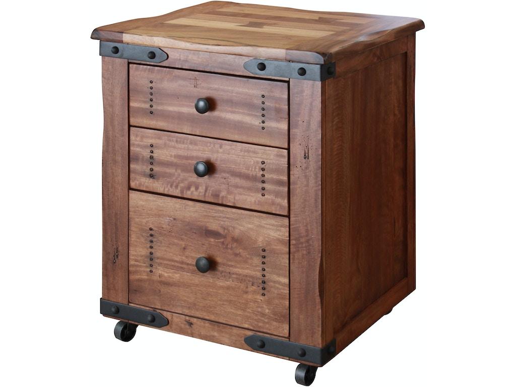 International Furniture Direct Home Office File Cabinet 3