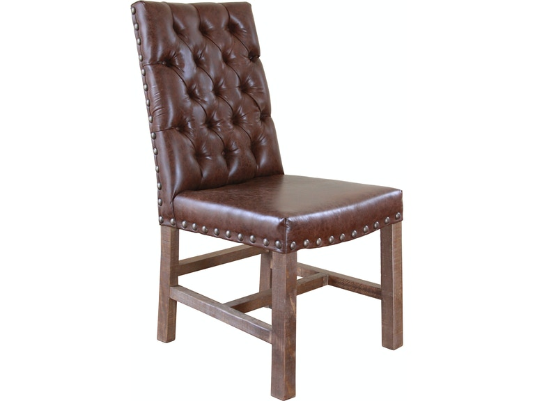 International Furniture Direct Dining Room Faux Leather Chair