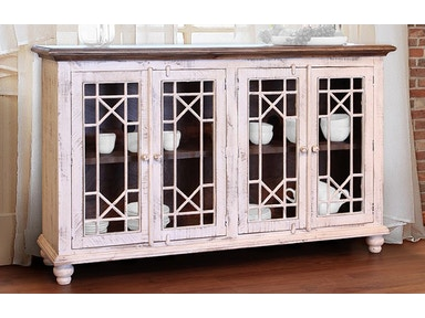 International Furniture Direct Living Room 70 Console