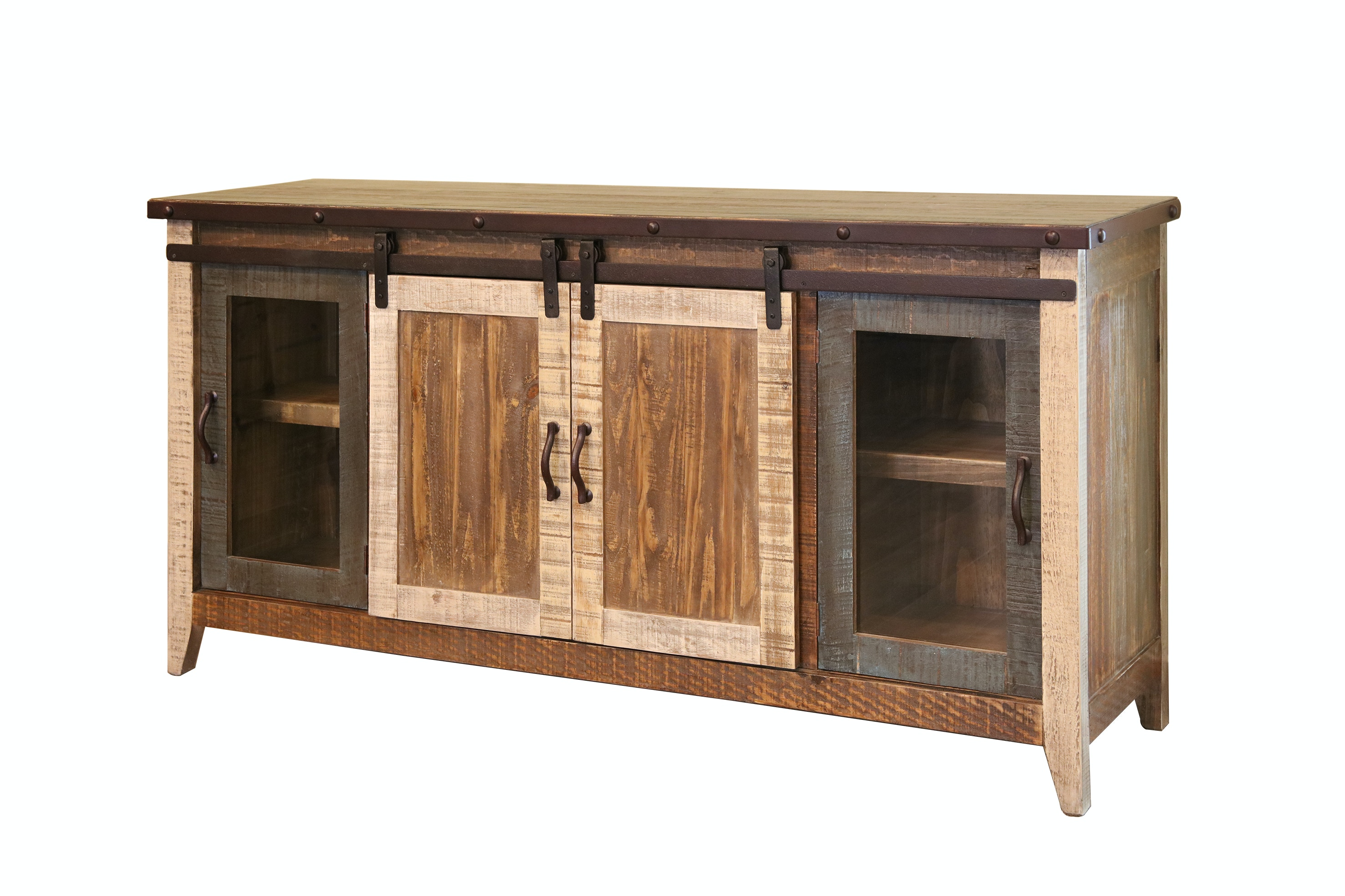 International Furniture Direct Home Entertainment 70 Tv Stand With