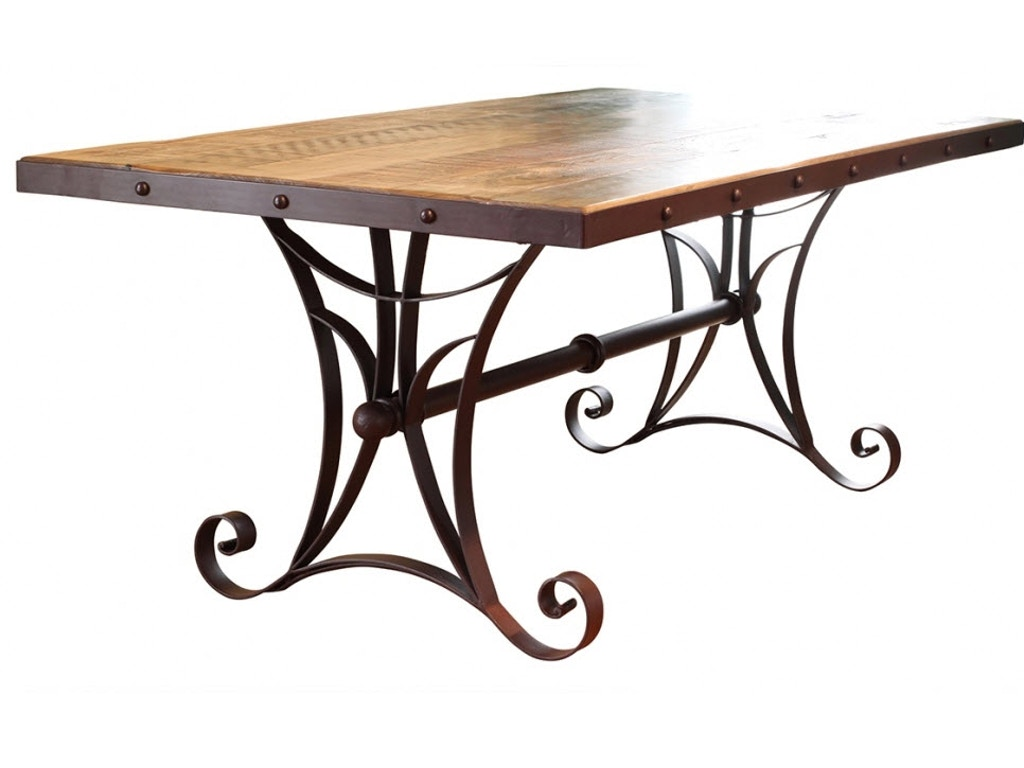 International furniture direct dining room dining table ifd962table mc seaside furniture - Dining rooms direct ...