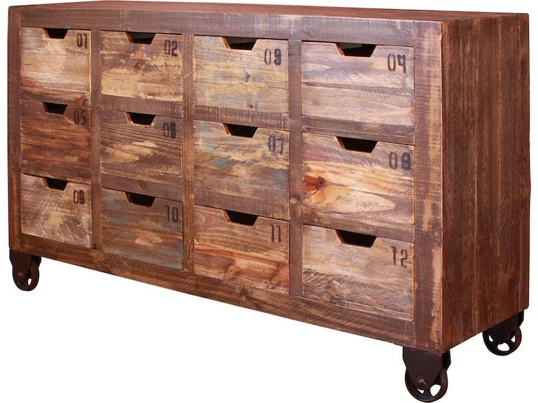 International Furniture Direct Living Room Multi-drawer