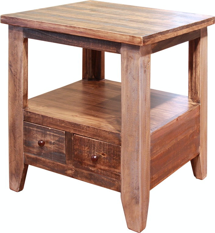 International Furniture Direct Living Room End Table Ifd965end China Towne Furniture Solvay Ny