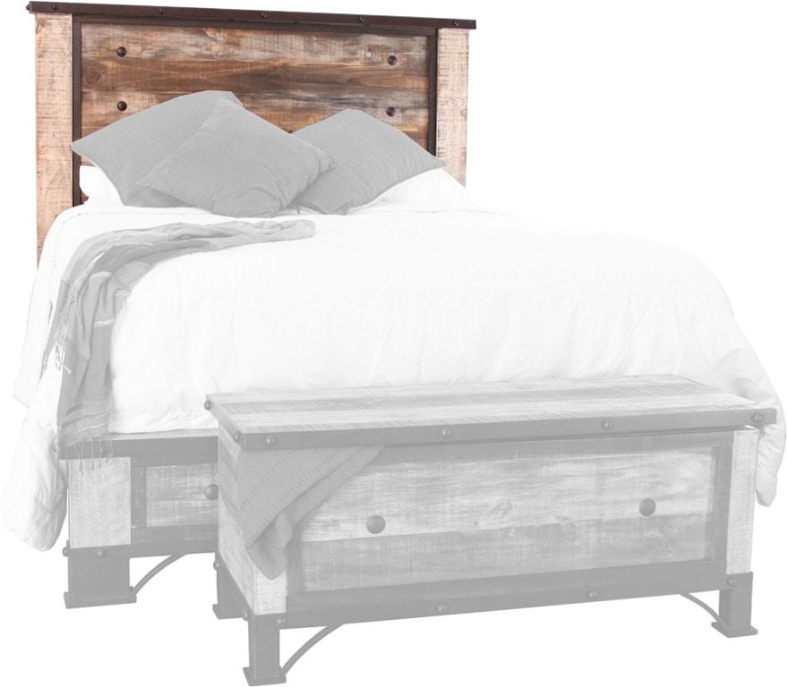 International Furniture Direct Bedroom Queen Antique ...