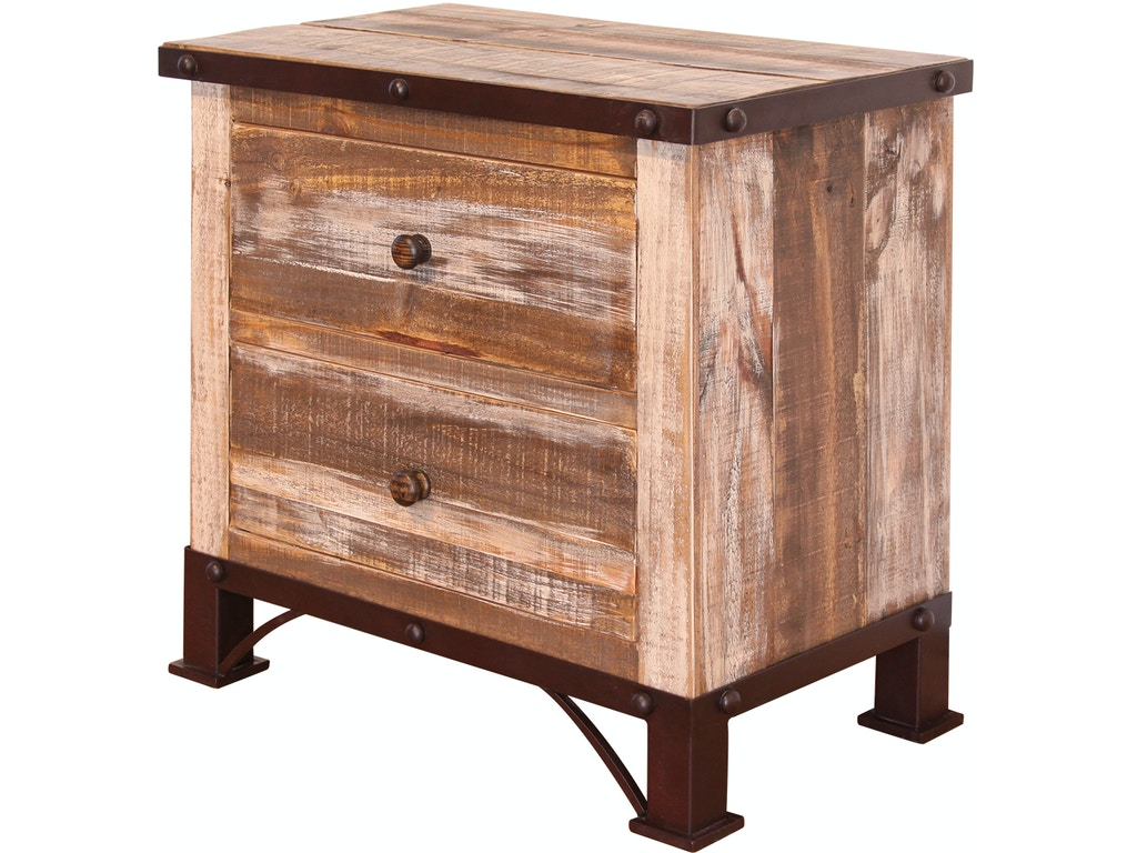 International furniture direct bedroom 2 drawer nightstand for Furniture direct