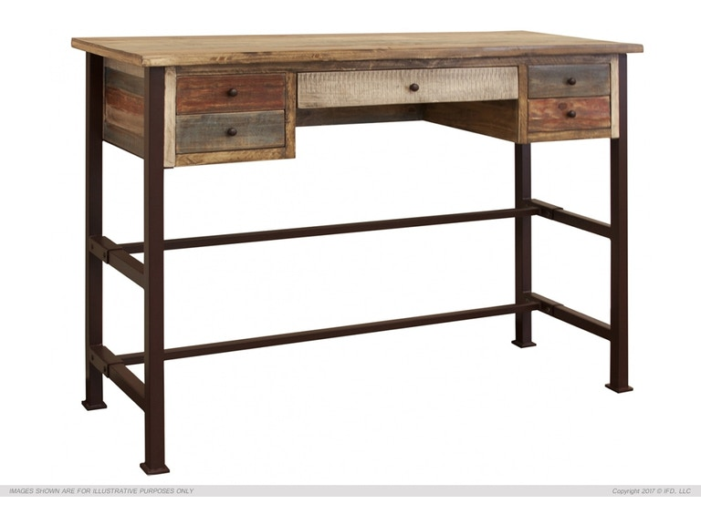 International Furniture Direct Home Office Writing Desk Ifd967desk