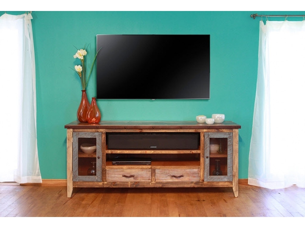 International Furniture Direct Home Entertainment Tv Stand