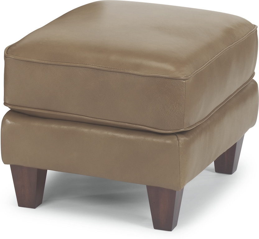 Cool Flexsteel Living Room Leather Ottoman 3979 08 Brownlees Inzonedesignstudio Interior Chair Design Inzonedesignstudiocom