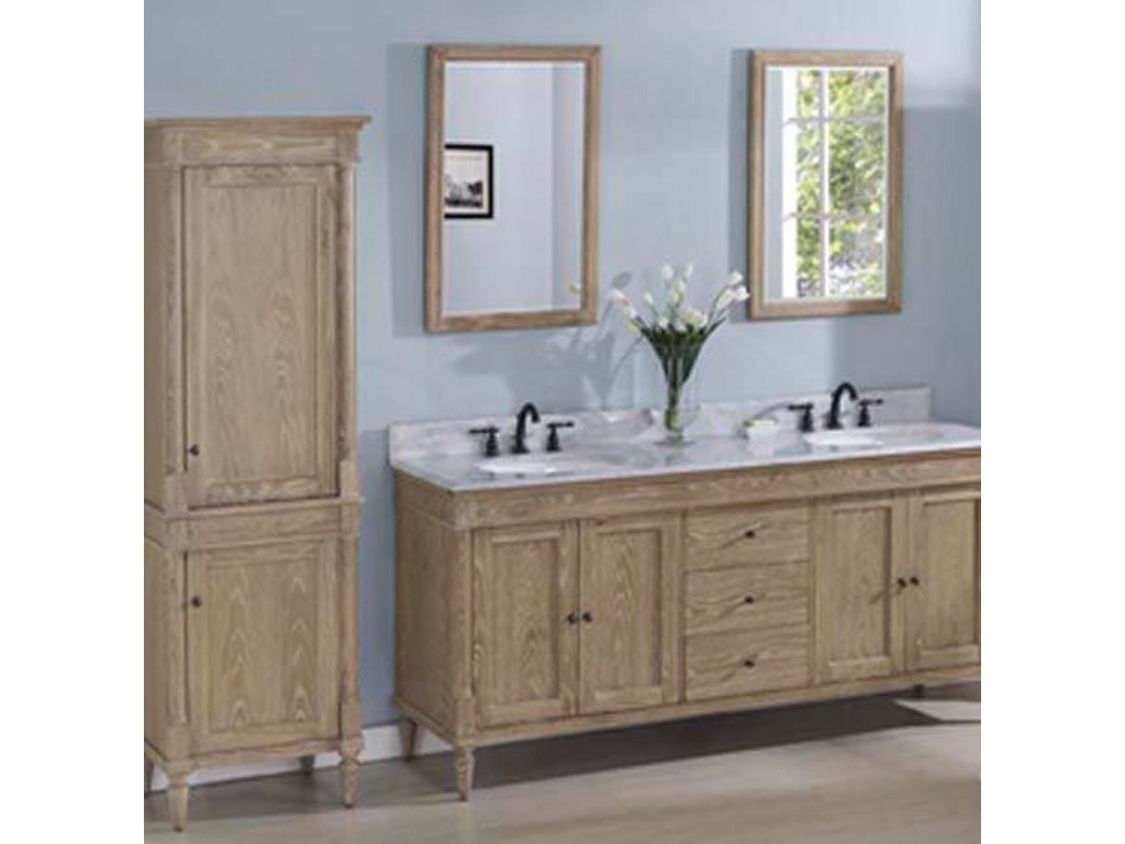 Fairmont designs bathroom 72 inches double bowl vanity 142 v7221d simply discount furniture - Simply design a bathroom vanity with five steps ...