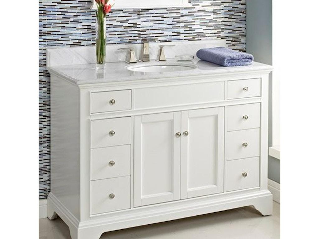 Fairmont Designs Bathroom 48 Inches Vanity 1502-V48 - Jernigan ...