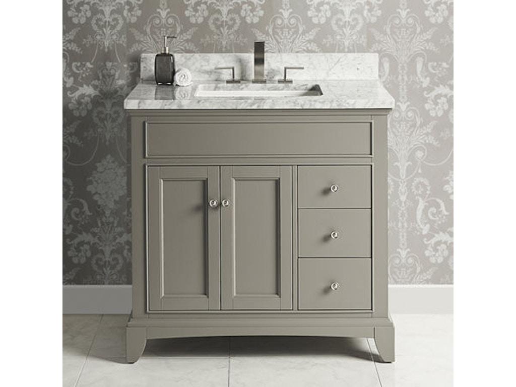 Fairmont Designs Bathroom Vanity Drawer Right Medium Gray 1504 V36r Ifurnish Frisco And