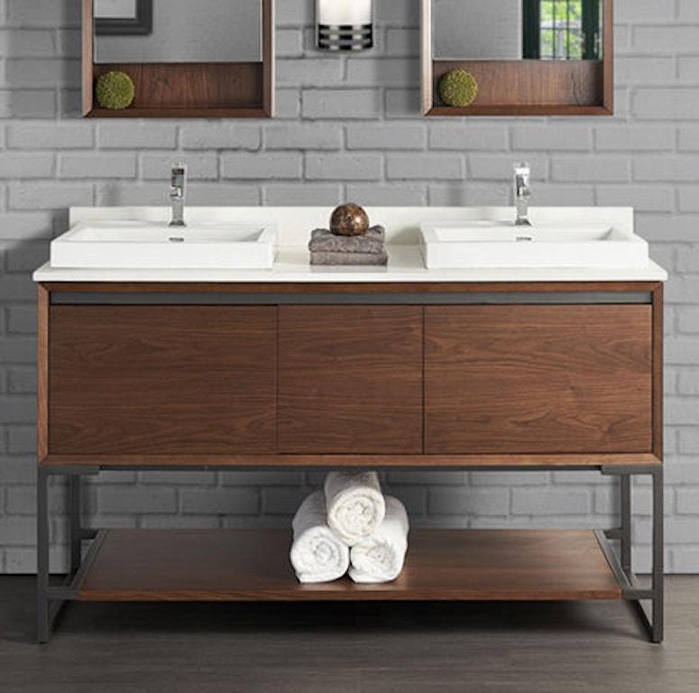 Fairmont Designs Bathroom M4 60 Double Bowl Vanity 1505
