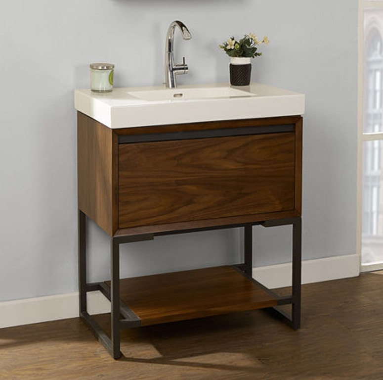 Fairmont Designs Bathroom 30×18 Inches Open Shelf Vanity 1505-VH3018 ...