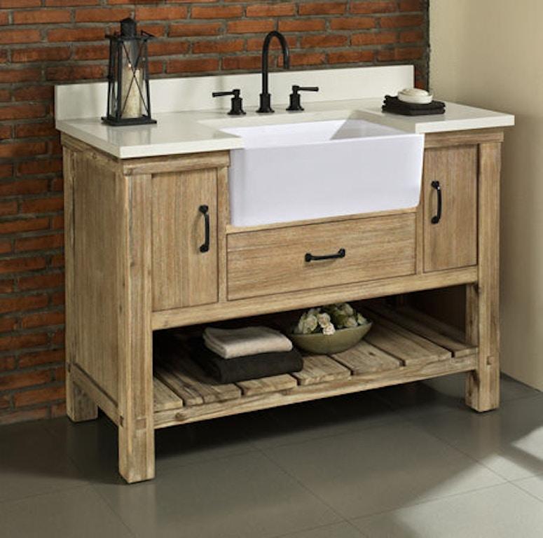 Awe Inspiring Fairmont Designs Bathroom Napa 48 Farmhouse Vanity 1507 Fv48 Caraccident5 Cool Chair Designs And Ideas Caraccident5Info