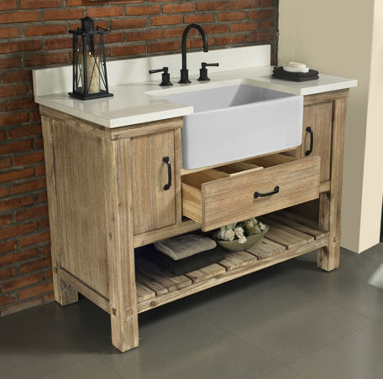 Terrific Fairmont Designs Bathroom Napa 48 Farmhouse Vanity 1507 Fv48 Caraccident5 Cool Chair Designs And Ideas Caraccident5Info