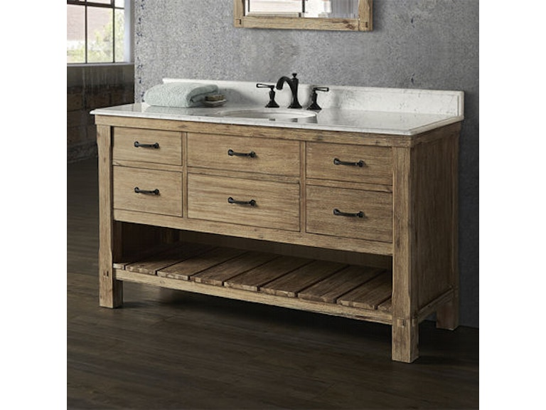 Prime Fairmont Designs Bathroom Napa 60 Inches Open Shelf Vanity Caraccident5 Cool Chair Designs And Ideas Caraccident5Info