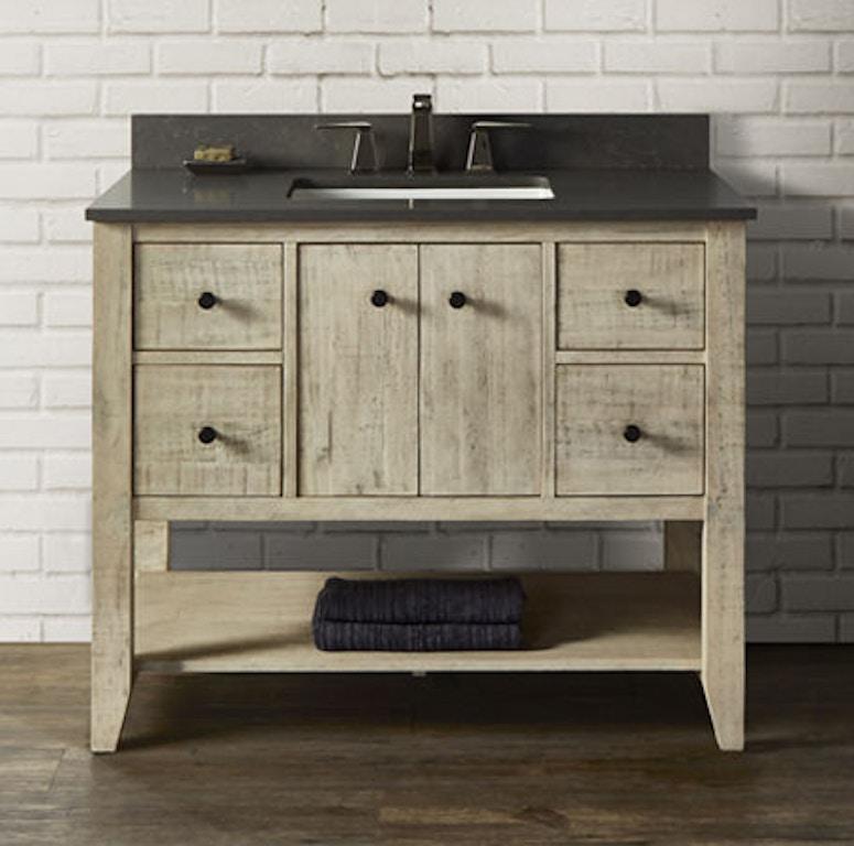 Fairmont Designs Bathroom River View 42 Inches Open Shelf