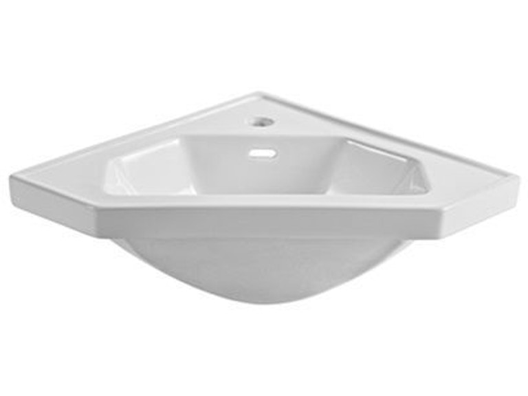 Fairmont Designs Bathroom 26 Inches Ceramic Corner Sink S Cv26 At Jernigan Furniture
