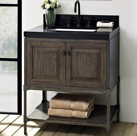 Fairmont Designs 30 Inches Vanity - Door 1401-30 & Fairmont Designs Bathroom 30 Inches Vanity - Door 1401-30 ...