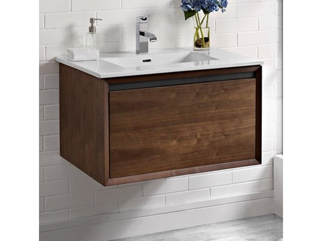 Fairmont designs bathroom wall mount vanity 1505 wv30 simply discount furniture santa - Simply design a bathroom vanity with five steps ...