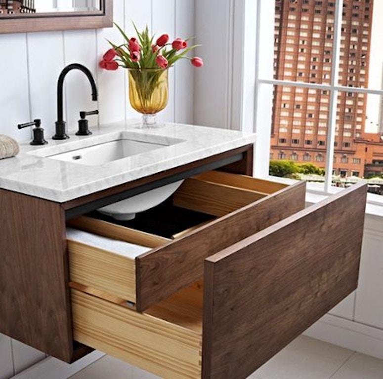 Fairmont Designs Bathroom Wall Mount Vanity 1505-WV36 - Factory ...