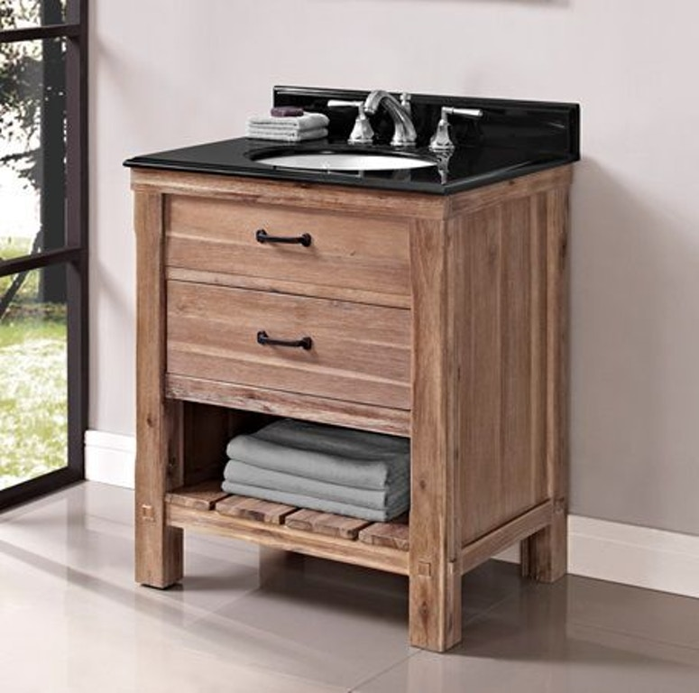 Fairmont Designs Bathroom 30 Inches Open Shelf Vanity 1507-VH30 ...
