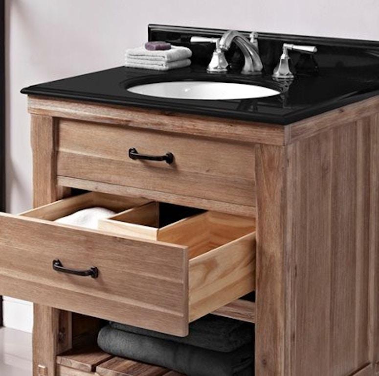 Sensational Fairmont Designs Bathroom Napa 30 Open Shelf Vanity 1507 Caraccident5 Cool Chair Designs And Ideas Caraccident5Info