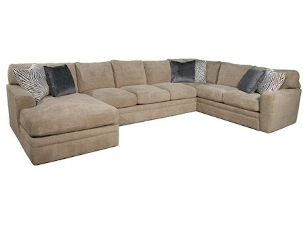 Fairmont designs living room palms sectional d3698 sect for Chaise edmonton