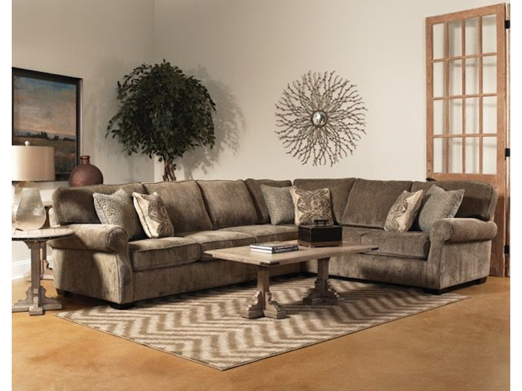 Fairmont Designs Living Room Sectional D3637 Sect