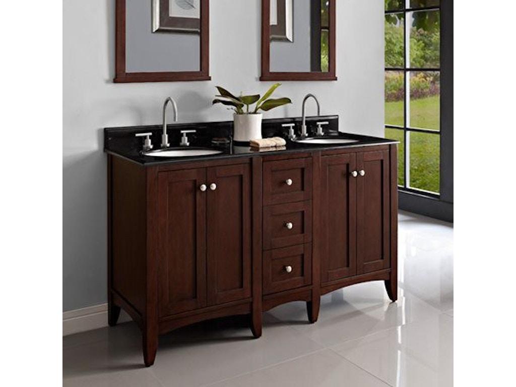 Fairmont Designs Bathroom 60 Inches Modular Vanity 1513 V24 Db12 V24 Simply Discount Furniture