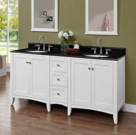 Fairmont Designs 72 Inches Double Bowl Vanity 1512-V30_DB12_V30
