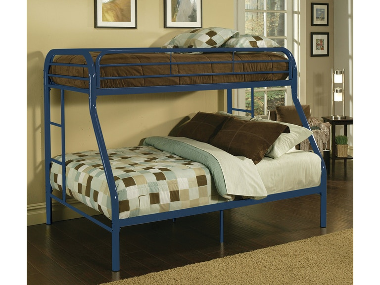 Acme Furniture Youth Twin Xl Over Queen Bunk Bed 02052bu The