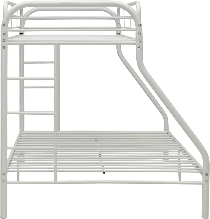 Acme Furniture Youth Twin Xl Over Queen Bunk Bed 02052wh Great
