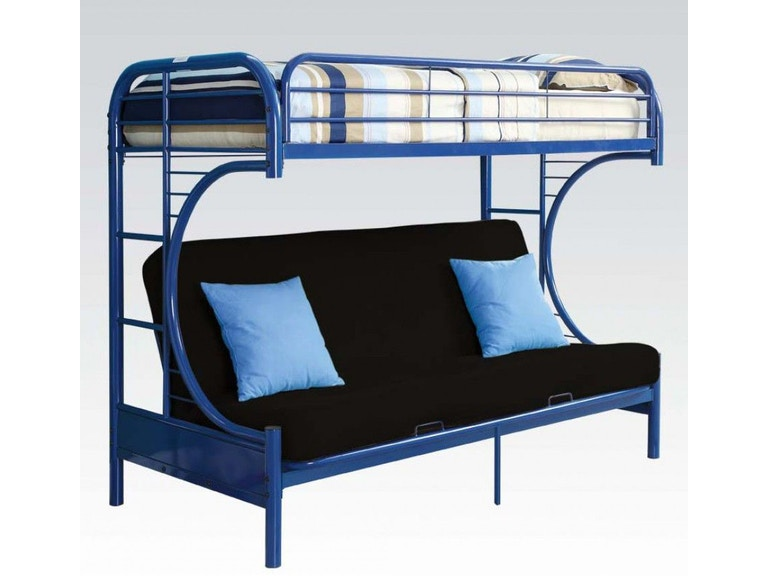 Acme Furniture Youth Twin Over Full Futon Bunk Bed 02091w Nv
